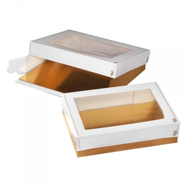 AMERIKA XL Tortenkarton Fenster