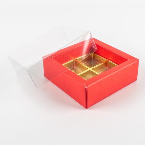 CLASSIC KLAR Packung für 4-15 Pralinen