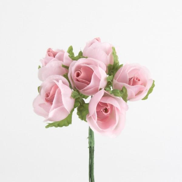 Rose 26mm, 6 Stück/Bund