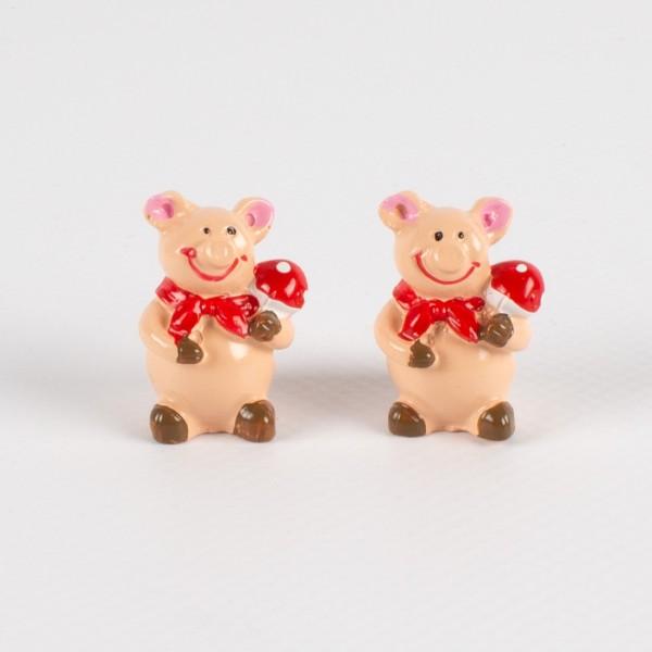 Poly Glücksschwein 25mm