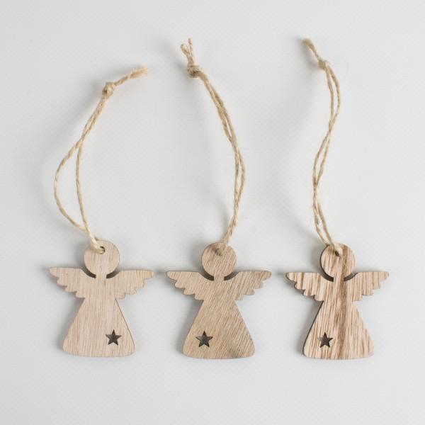 Engel Holz zum Hängen 50mm