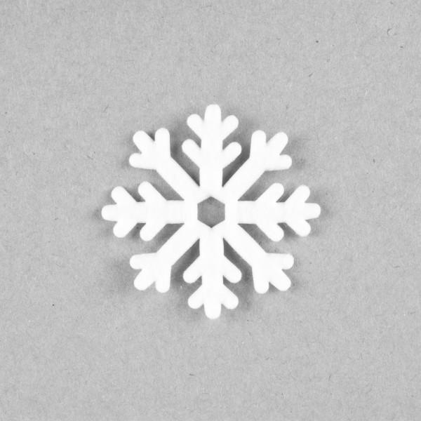 Filz Schneeflöckchen 52mm